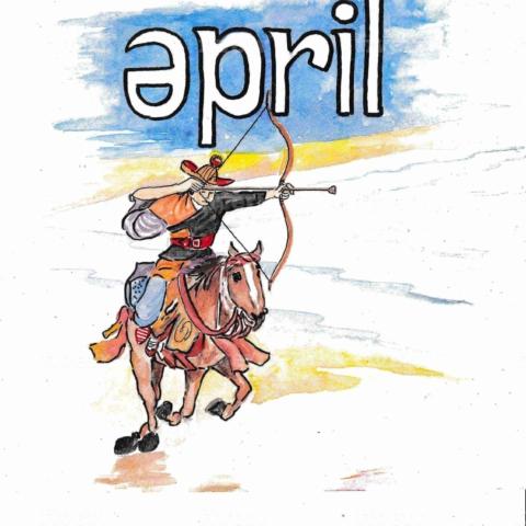 英語の4月