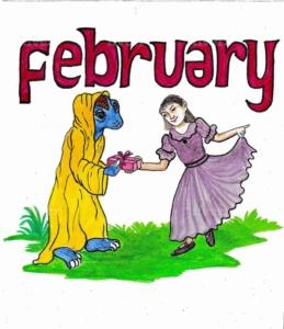 英語の2月
