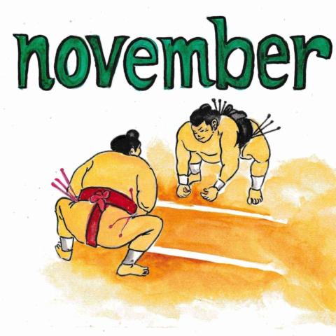 英語の11月