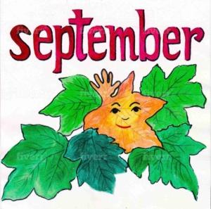 英語の9月