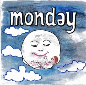 英語の月曜日