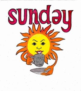 英語の日曜日