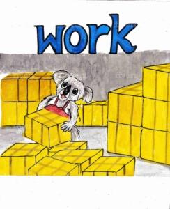 働く:work