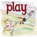 中学英単語 ,play,運動する