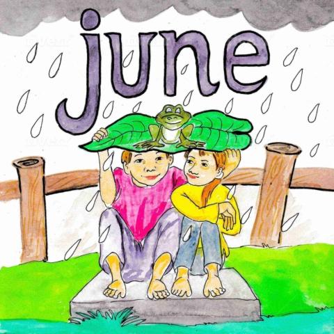 英語の6月