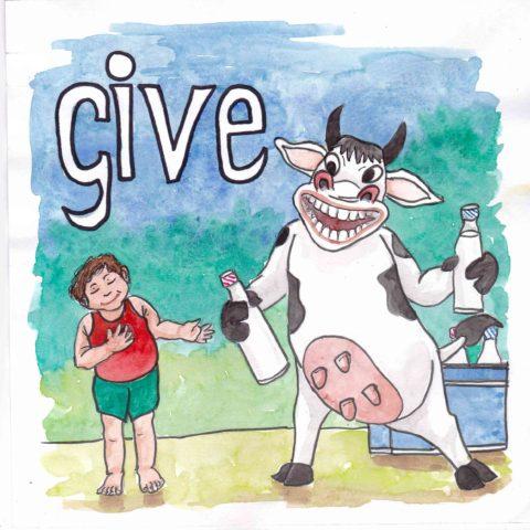 中学英単語 ,give,与える