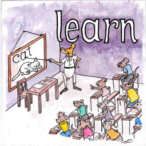 中学英単語 ,learn,学ぶ