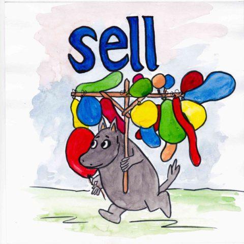 中学英単語 ,sell,売る
