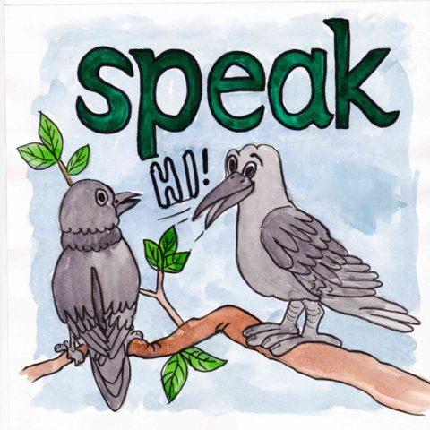 中学英単語 ,speak,話す