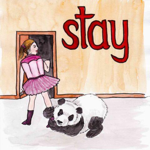 中学英単語 ,stay,滞在する