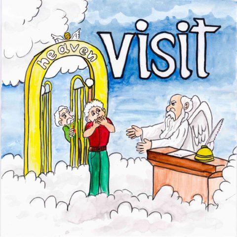 中学英単語 ,visit,訪問する