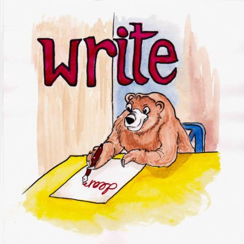 中学英単語 ,write,書く